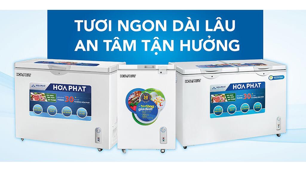 6 lý do chọn mua tủ đông Hòa Phát
