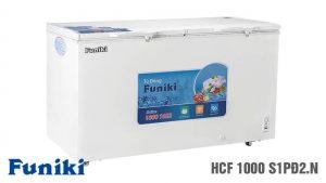 Tủ đông Funiki-HCF-1000-S1PD2-N 1 ngăn 2 cánh mở