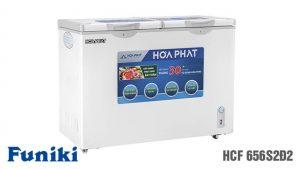 Tủ đông-Funiki-HCF-656S2D2 2 ngăn 2 chế độ