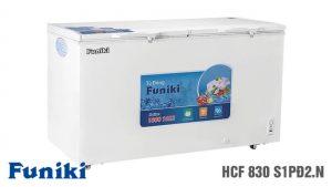 Tủ đông Funiki-HCF-830-S1PD2-N 2 ngăn 1 chế độ