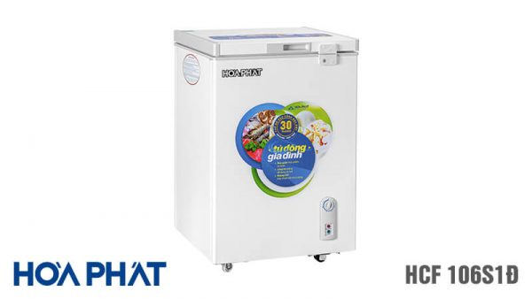 Tủ đông Hòa Phát-HCF-106S1D 1 ngăn 1 chế độ