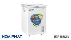 Tủ đông Hòa Phát-HCF-106S1N 1 ngăn 1 chế độ