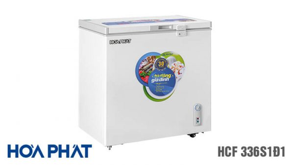 Tủ đông Hòa Phát-HCF-336S1D1 1 ngăn 1 chế độ