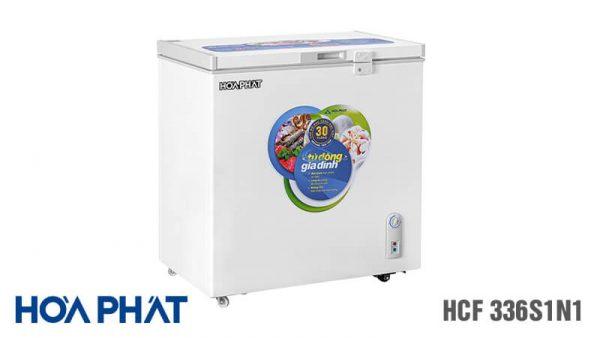 Tủ đông Hòa Phát-HCF-336S1N1 1 ngăn 1 chế độ