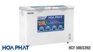 Tủ đông Hòa Phát -HCF-506S2N2 2 ngăn 2 chế độ