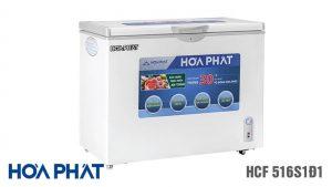 Tủ đông Hòa Phát-HCF-516S1D1 1 ngăn 1 chế độ