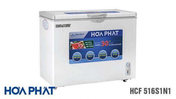 Tủ đông Hòa Phát HCF-516S1N1 1 ngăn 1 chế độ