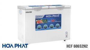 Tủ đông Hòa Phát-HCF-606S2N2 2 ngăn 2 chế độ