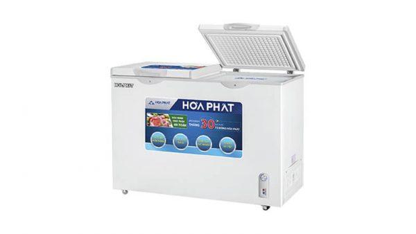 Tủ đông nằm 2 ngăn 2 canh mở Hòa Phát-HCF-606S2N2