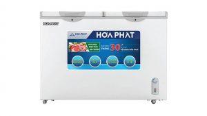 Tủ đông nằm 2 ngăn 2 cánh mở Hòa Phát-HCF-656S2N2
